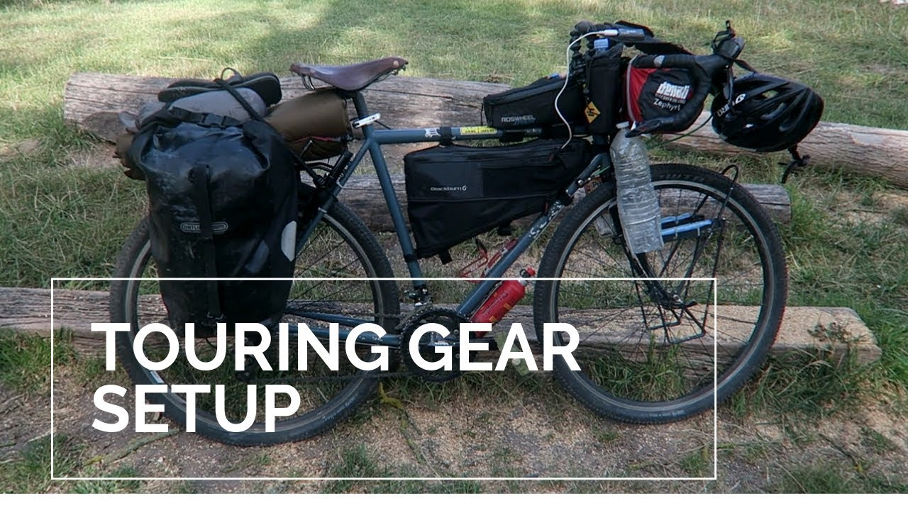 Europe Bikepacking Bicycle Touring Surly Long Haul Trucker Gear Setup 2019