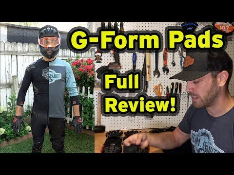 G-Form Mountain Bike Pads | Full Review | 2019