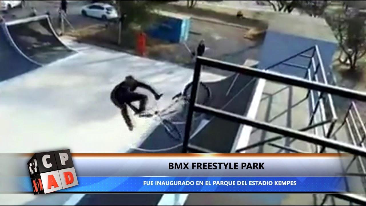 """INAUGURACIÓN DEL  """"BMX FREESTYLE PARK"""" EN EL PARQUE KEMPES"""