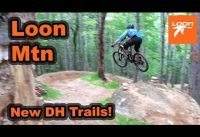 Loon Mountain | New DH Mountain Bike Trails | 2019