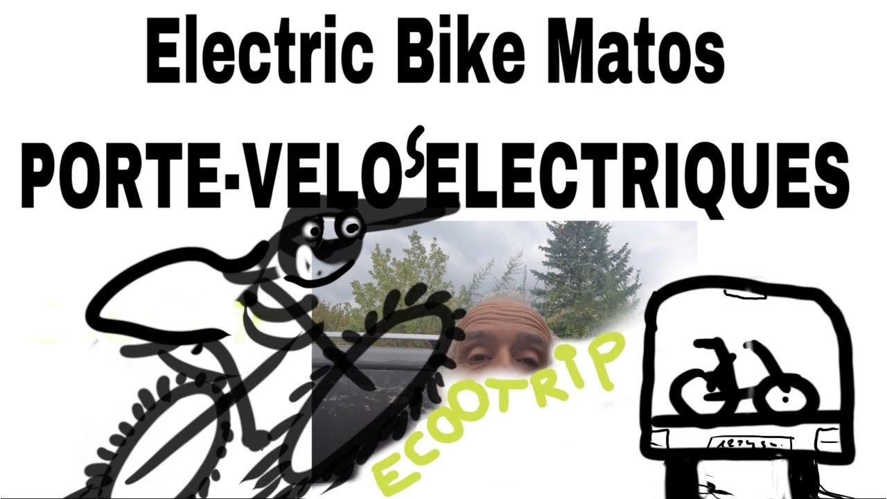 M1. Electric Bike MATOS : Porte Vélo conçu pour VTT électiques
