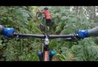 MOUNTAIN BIKE TRAIL NOOBS ( NEW AT THIS GOPRO USAGE) I CAN ONLY GET BETTER :D