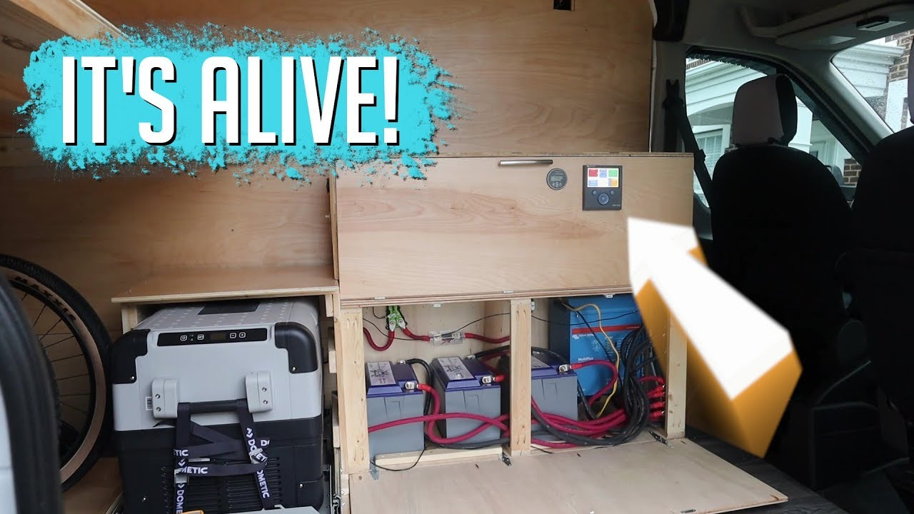 MTB Plan B - Not Van Life...And we have POWER!