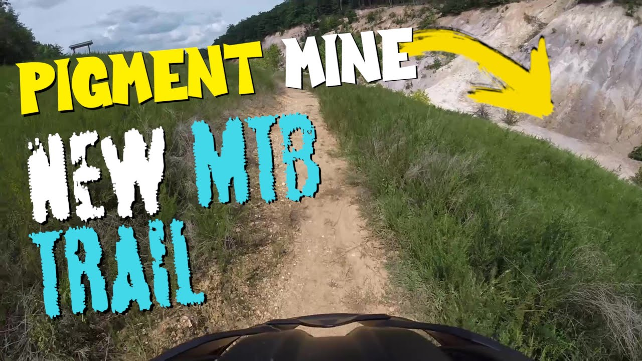 MTB Plan B - Riding new trails at abandoned Pigment Mine!