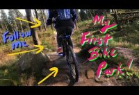 MY FIRST BIKE PARK | Lady Cannings Plantation MTB Park Sheffield