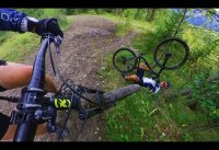 Minnawanka Bankhead Mountain Bike Ride with Insta360 One X
