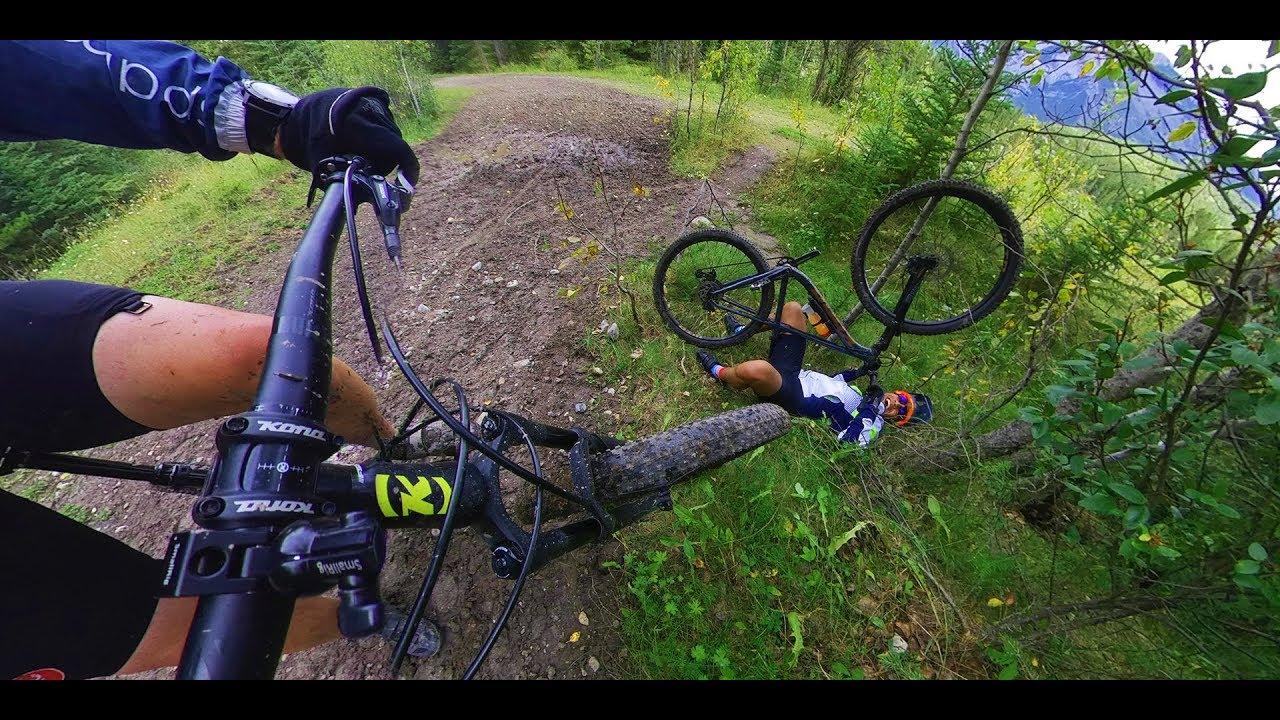 Minnawanka Bankhead Mountain Bike Ride with Insta360 One X