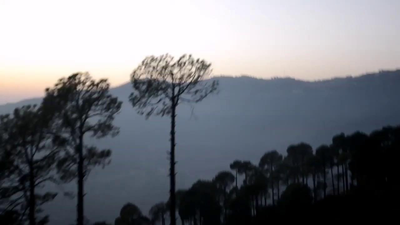 Murree to Islamabad on Bike trough Expressway ( Night view)