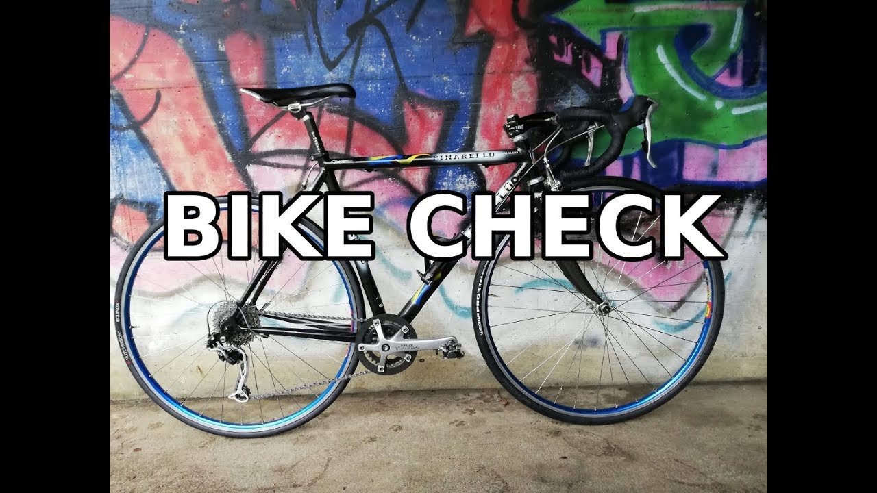My PINARELLO GALILEO Bike check (my first road bike)