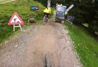 ONE LAP Challenge - Top to Bottom at Bike Park Leogang   POVeverything