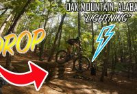 "Oak Mountain Alabama | ""Lightning"" Mountain Bike Trail"