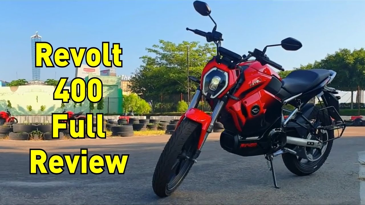 Revolt RV 400 Electric Bike First Ride Review  | Just 3000, No Down payment | Teqnar Telugu