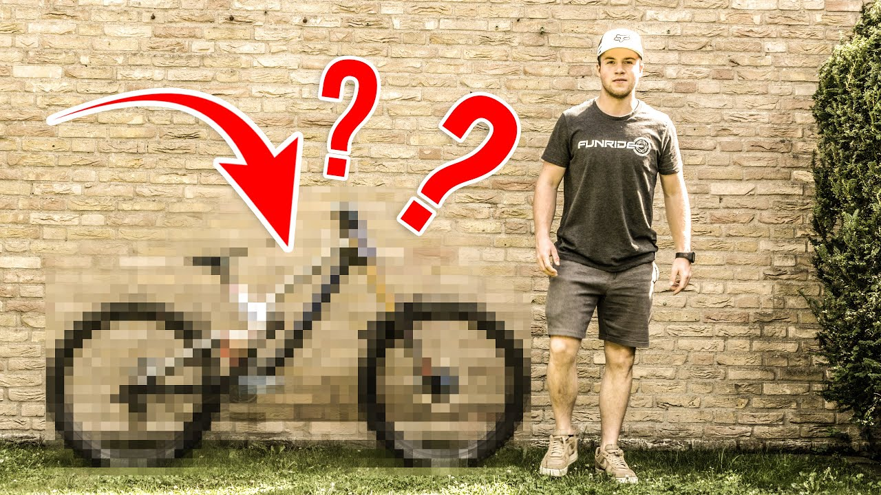 SPECIAL PAINTED CANYON SENDER   Bike Check 2019