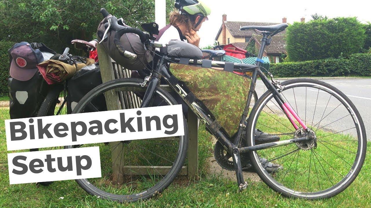 Ultralight Road Bikepacking Setup (Quick Look!) Bike Touring UK Vlog