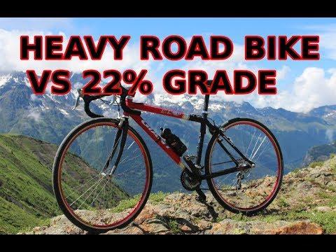 Very steep Weissenstein climb vs my DIY road bike