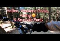 Weekend Goals!!! and failure @ Highland Bike Park