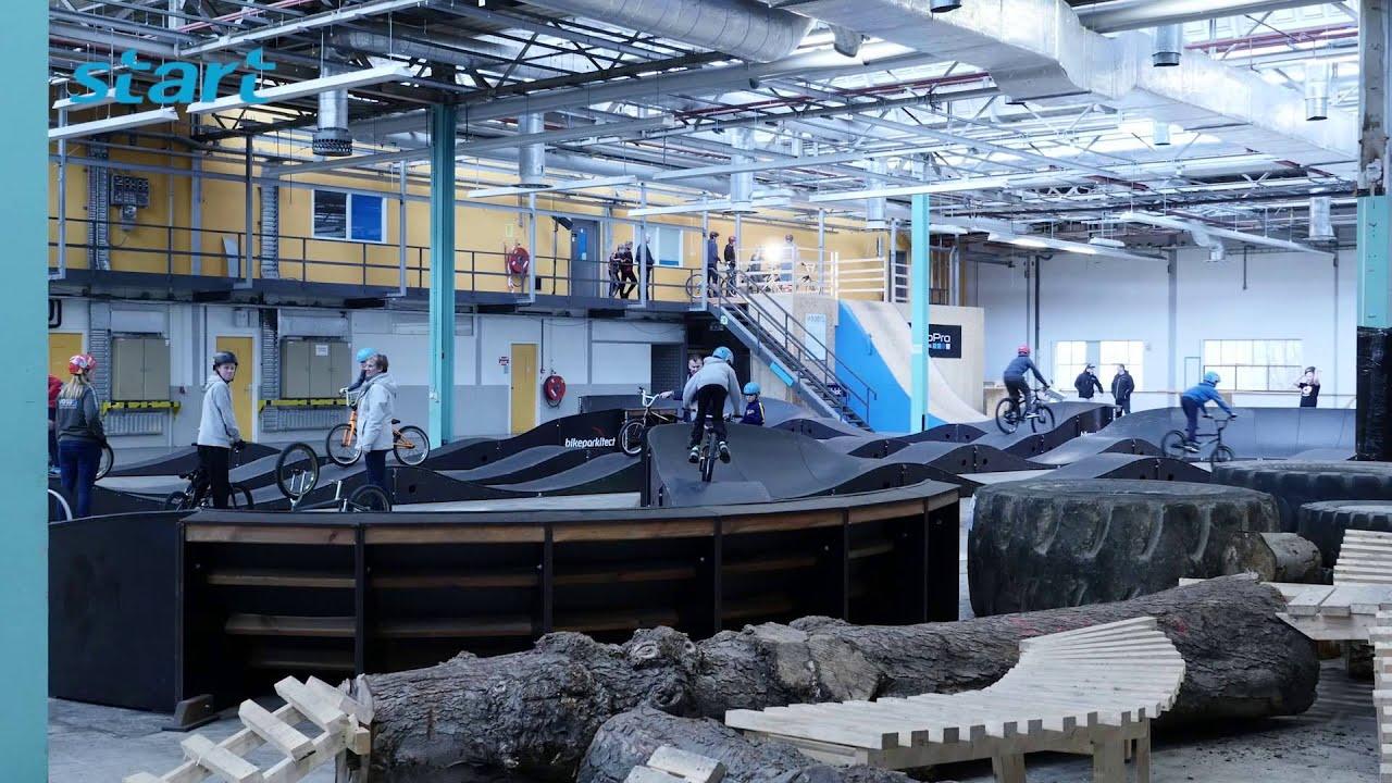 Wood 15 BMX/MTB-indoorbaan, Sittard