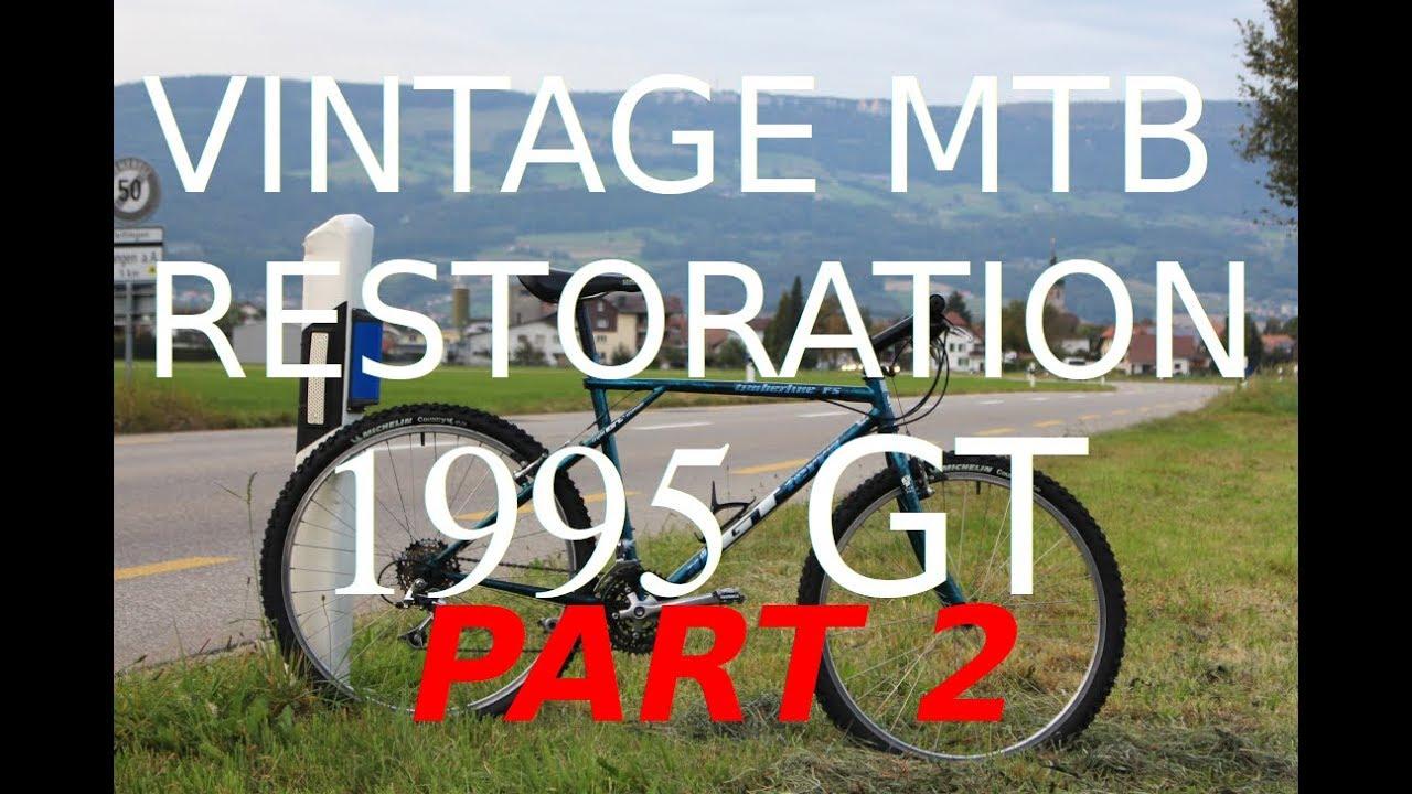 1995 Vintage MTB Restoration - PART 2