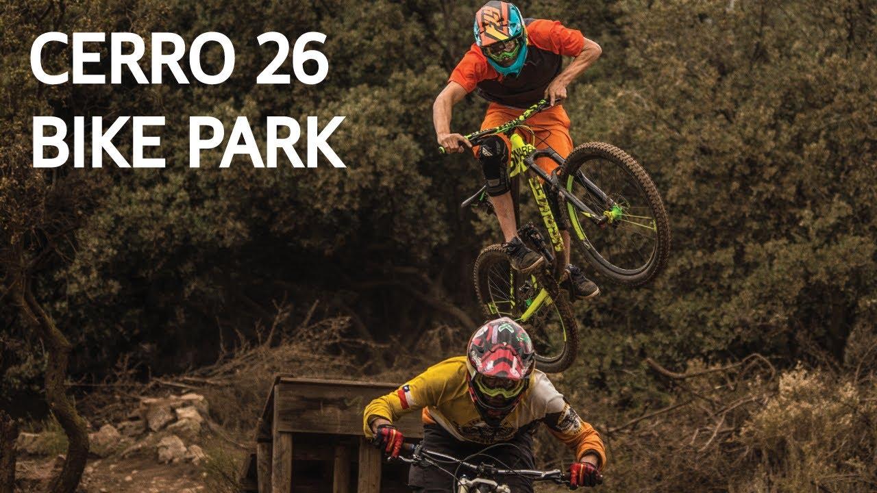Bike Park Cerro 26, dejándolo todo con Dogman!