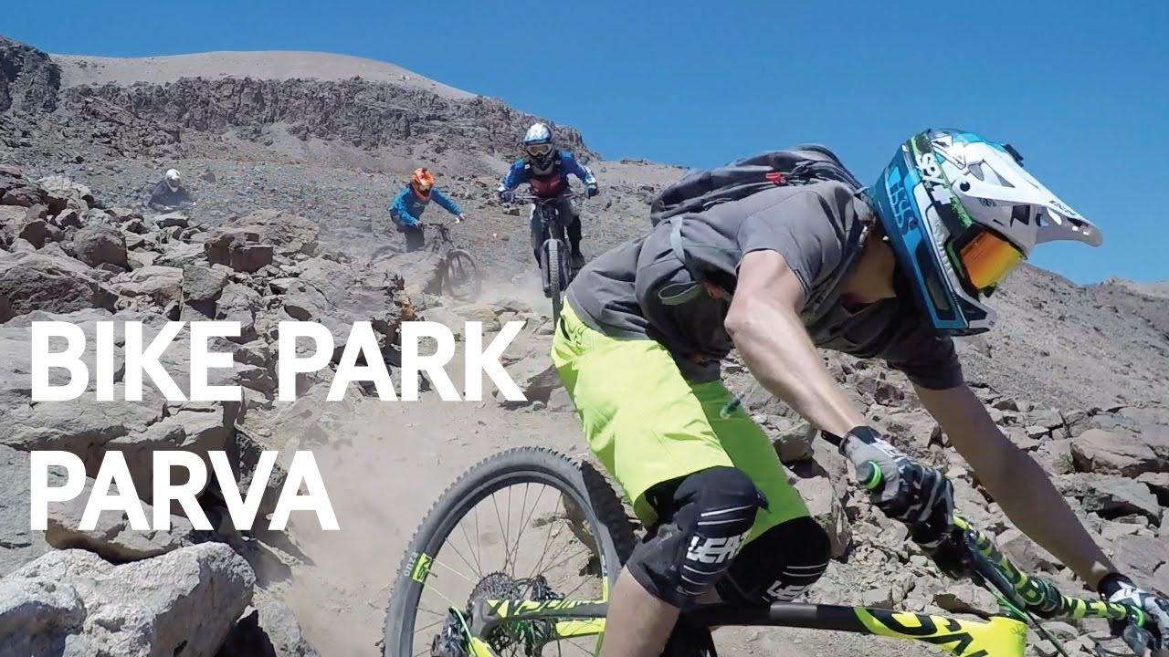 Bike Park La Parva - Road gap sin manos, neumáticos deformados, fondazos y porrazos múltiples!