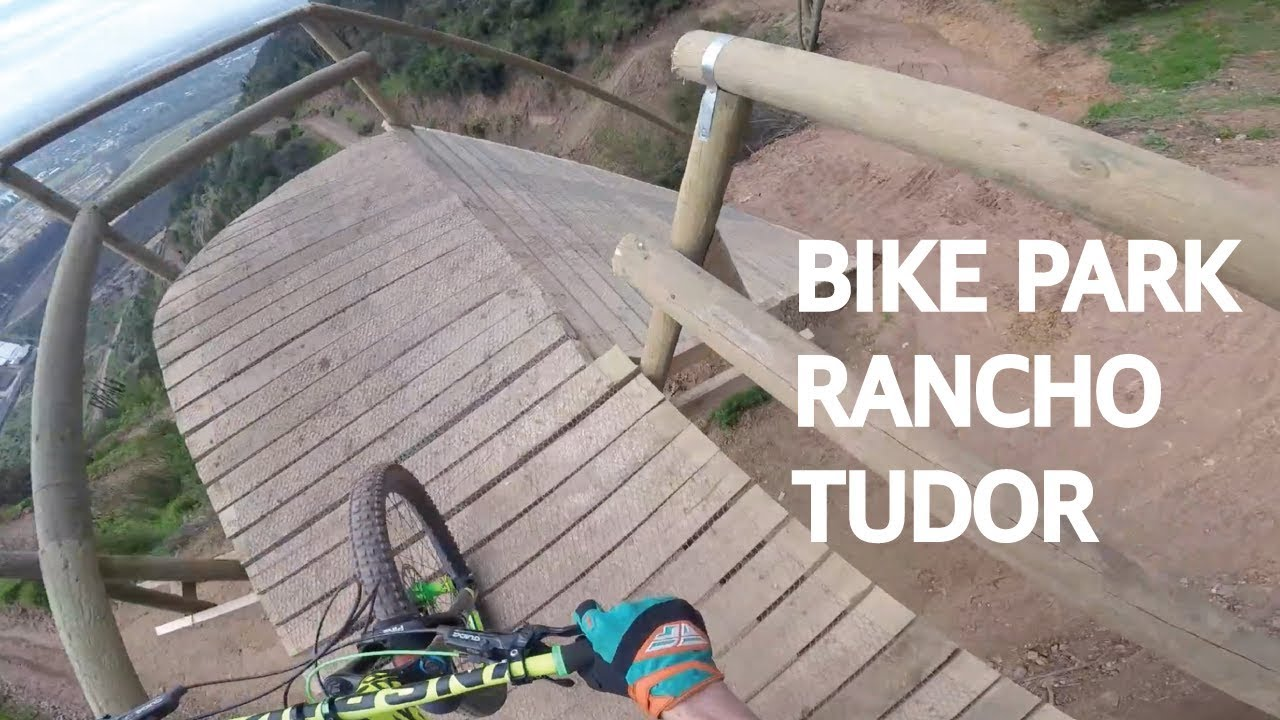 Bike Park Rancho Tudor, inaugurando las pistas de Carloto!