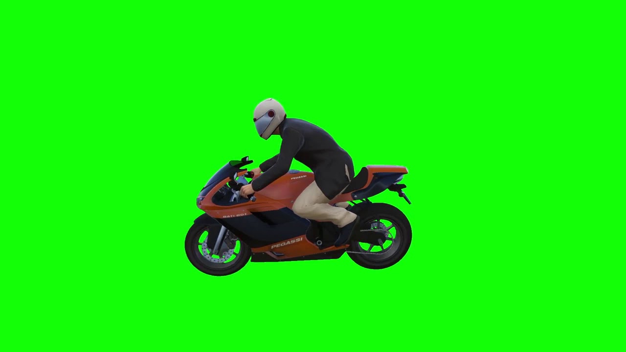Bike Running Green Screen Effects Video | Running Bike Green Screen Videos | Chroma Key