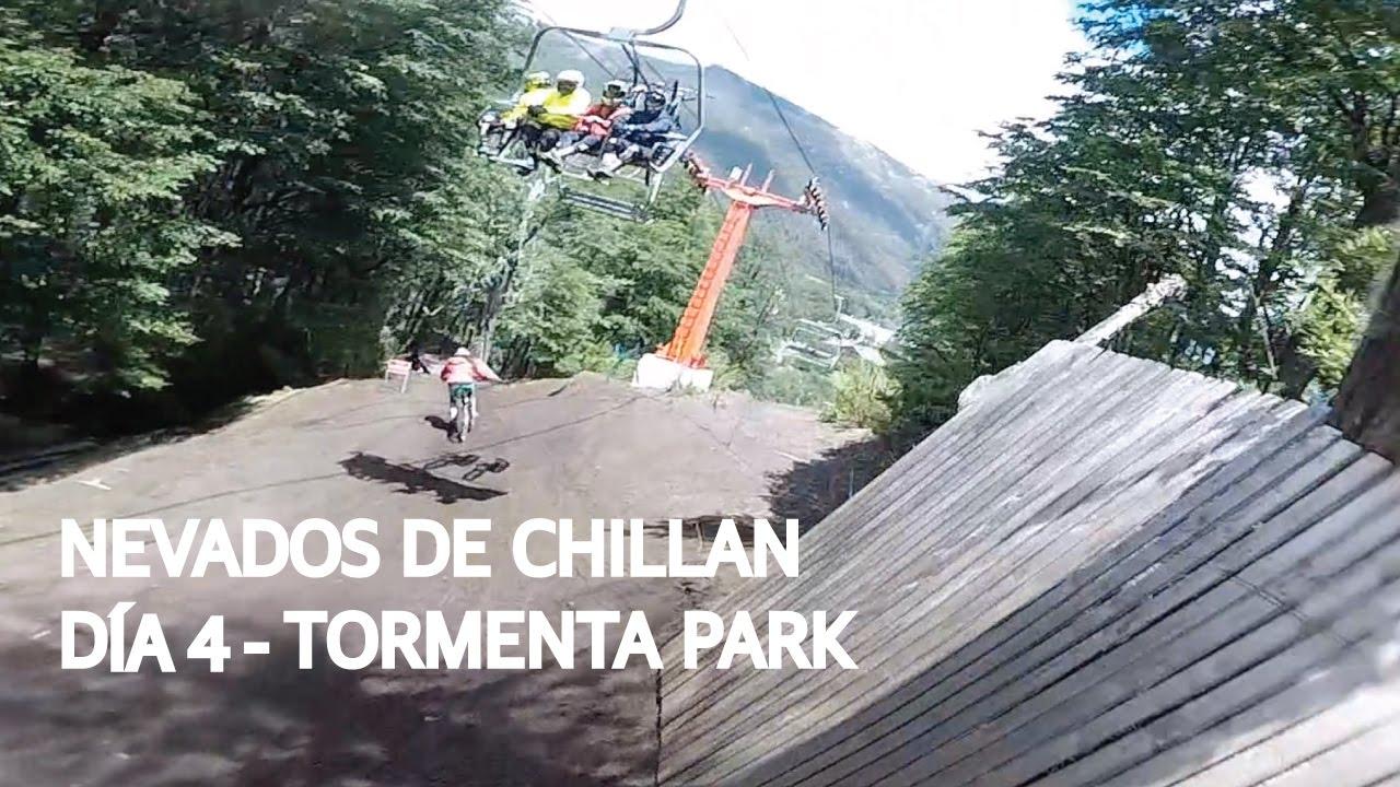 Chillan 4 - Un día más de bike park con la Coto!