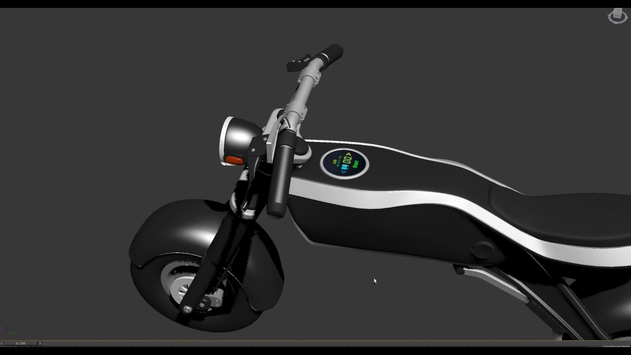 Electric bike A type