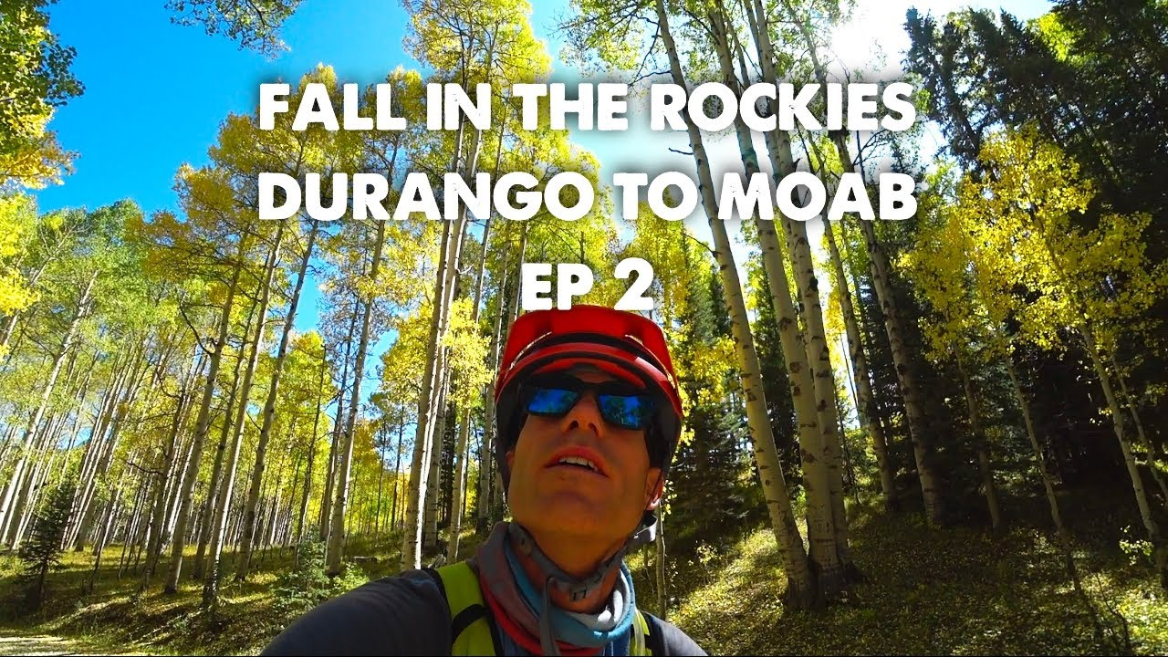 Fall Colors of Colorado-Bikepacking Hut Trip Durango to Moab-Part 2