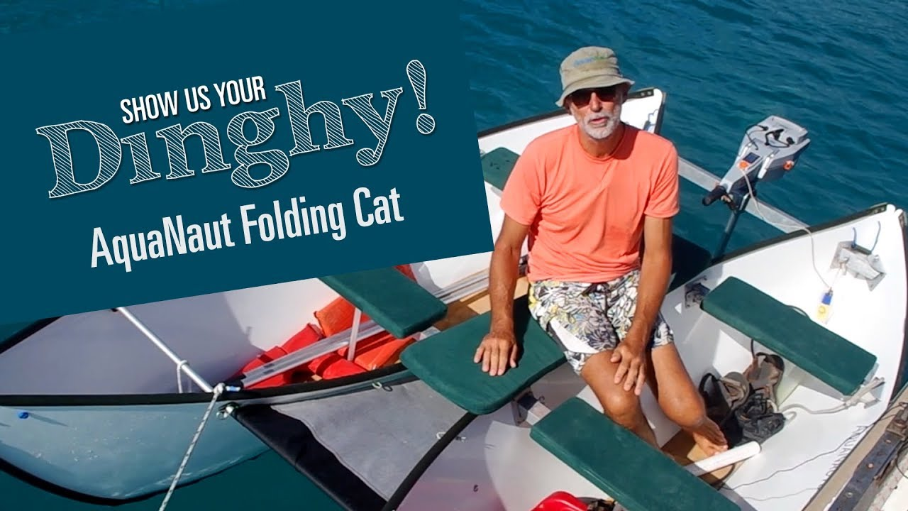 Folding Catamaran Boat [Show Us your Dinghy] - Roland