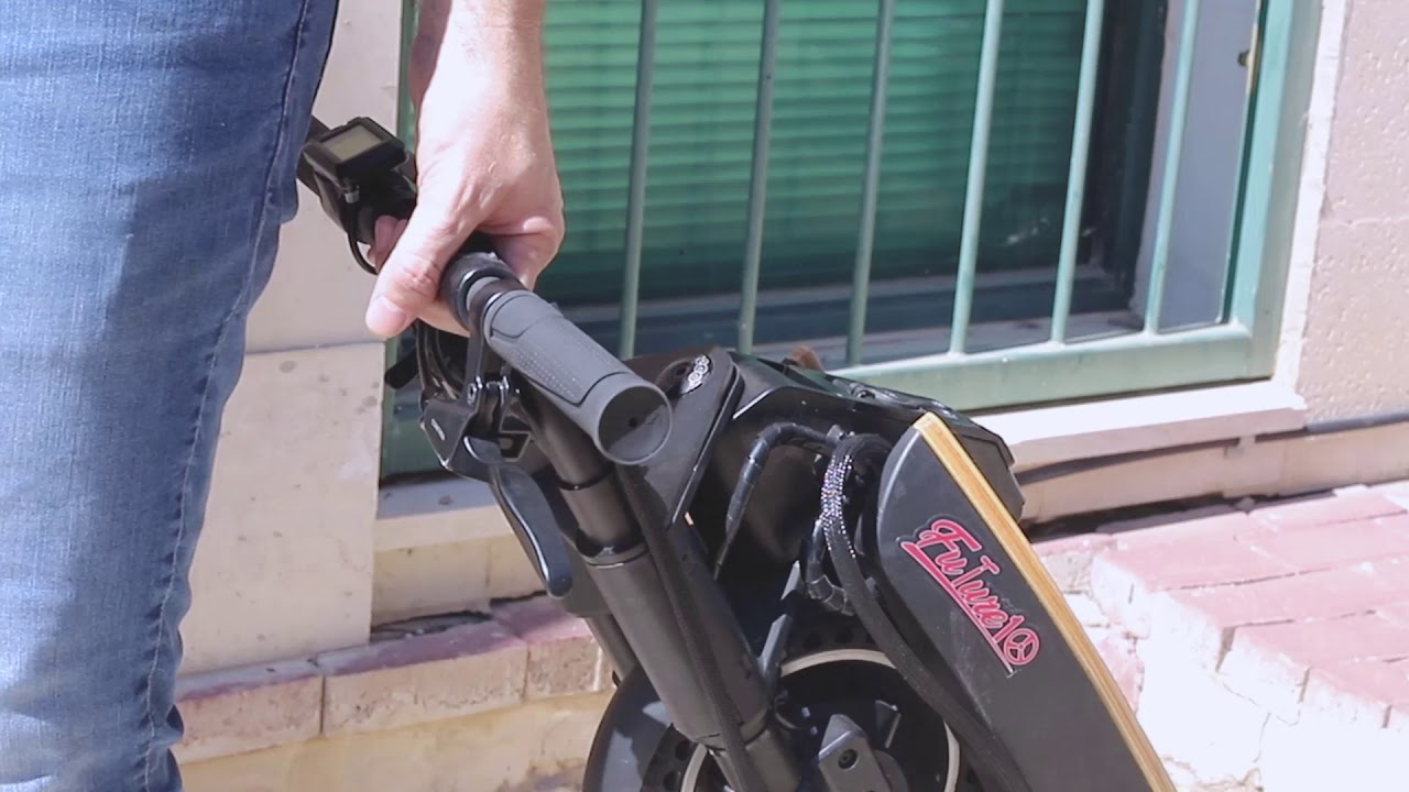 Future 10 Electric Scooter Unique Folding System