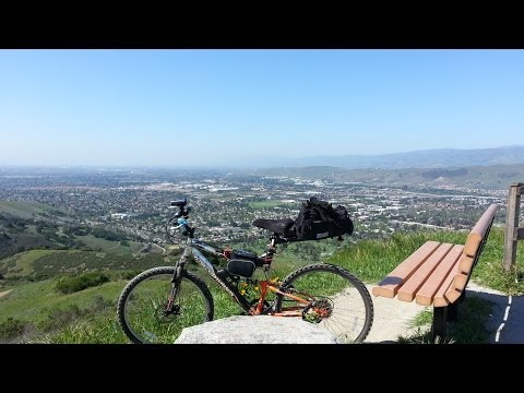 HadesOmega's Electric Mountain Bike Project Part 6 - Mountain Biking Santa Teresa Park 1 of 2