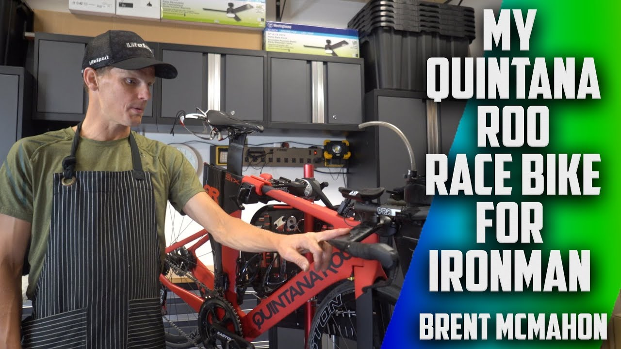 My Quintana Roo Race Bike For my Road to Ironman | Brent Mcmahon