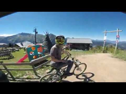Newsflare  -Mountain bike crash