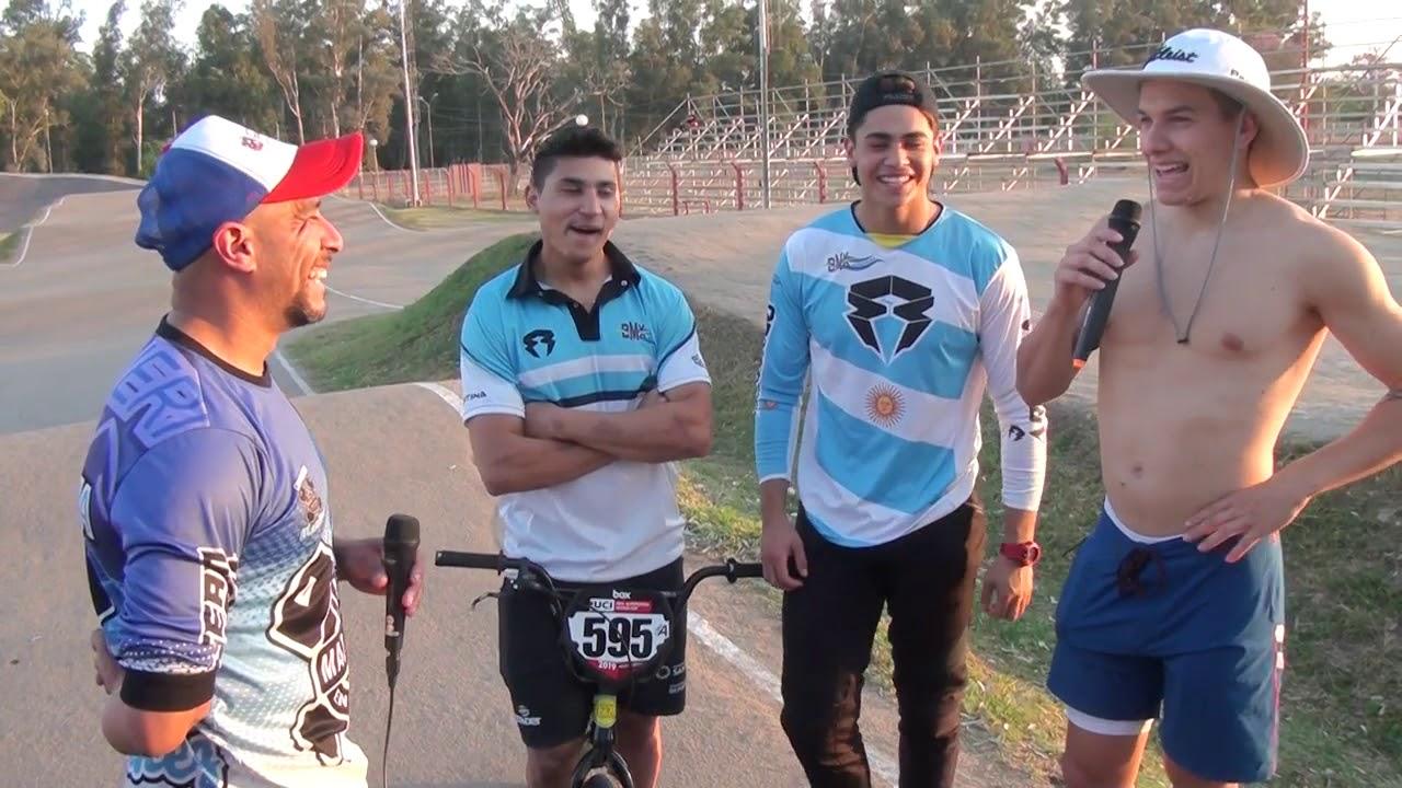 """Nota con ellos!!! Gonzalo """"Chalo"""" Molina - Matias Brizuela y Eddy Clerte."""