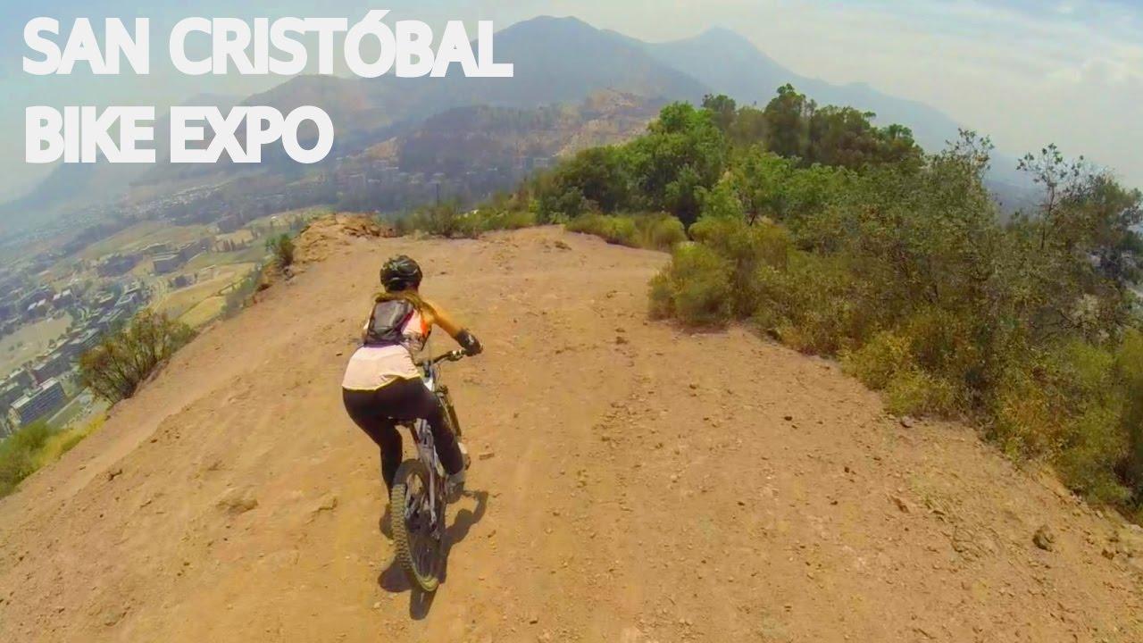 San Cristóbal y Bike Expo con la Vale!