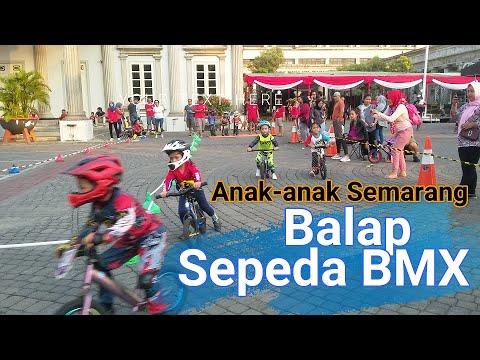 Seru dan Lucuuu Anak-Anak Balap Sepeda BMX Lucu