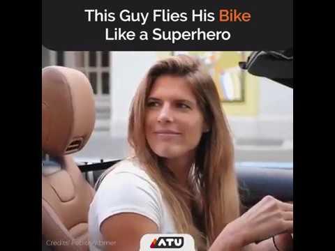 Superhero BMX Biker