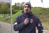 Sylvain André, champion du Monde de BMX, anime un stage à Niort à l'invitation du BMX Club Niortais
