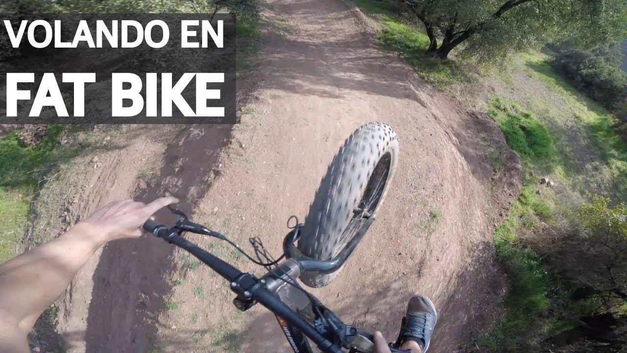 Test #10 - Presión correcta para andar Bike Park en Fat Bike! La Gorda en Oferta voladora!
