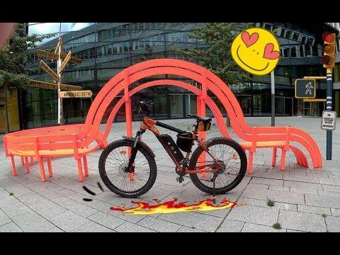 Test Fischer EM 1723 E Bike nach 3500 Km(Kundendienst Check)