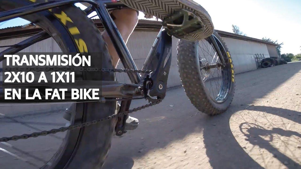 Tip #22 - Bajándole peso a la Fat Bike con transmisión 1X11!
