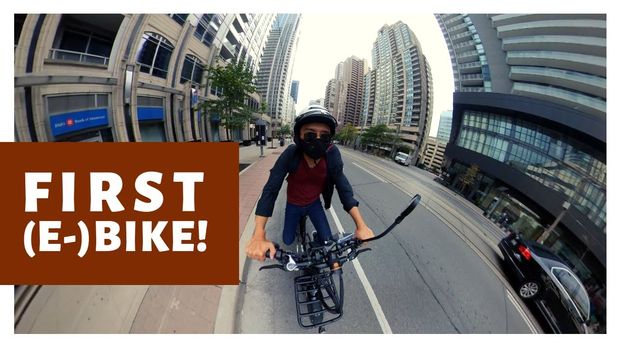 Voltbike Mariner Step-thru -- AMATEUR biker gets FIRST E-bike!