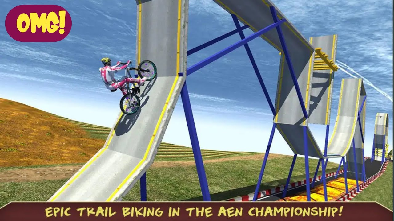 impossible downhill MTB Bike Stunts Gameplay by⭐ wow kidz Gameplay