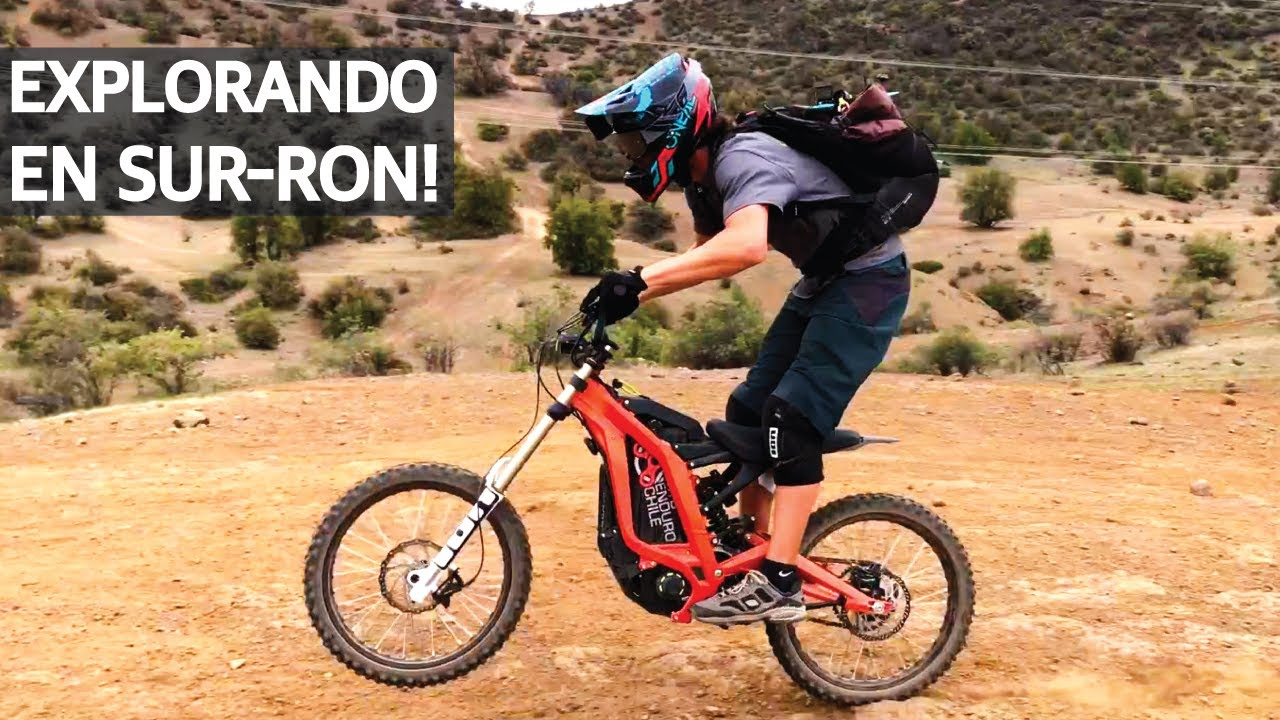 A Fondo con Doras las Exploradoras! Surron Electric Bike al Test!