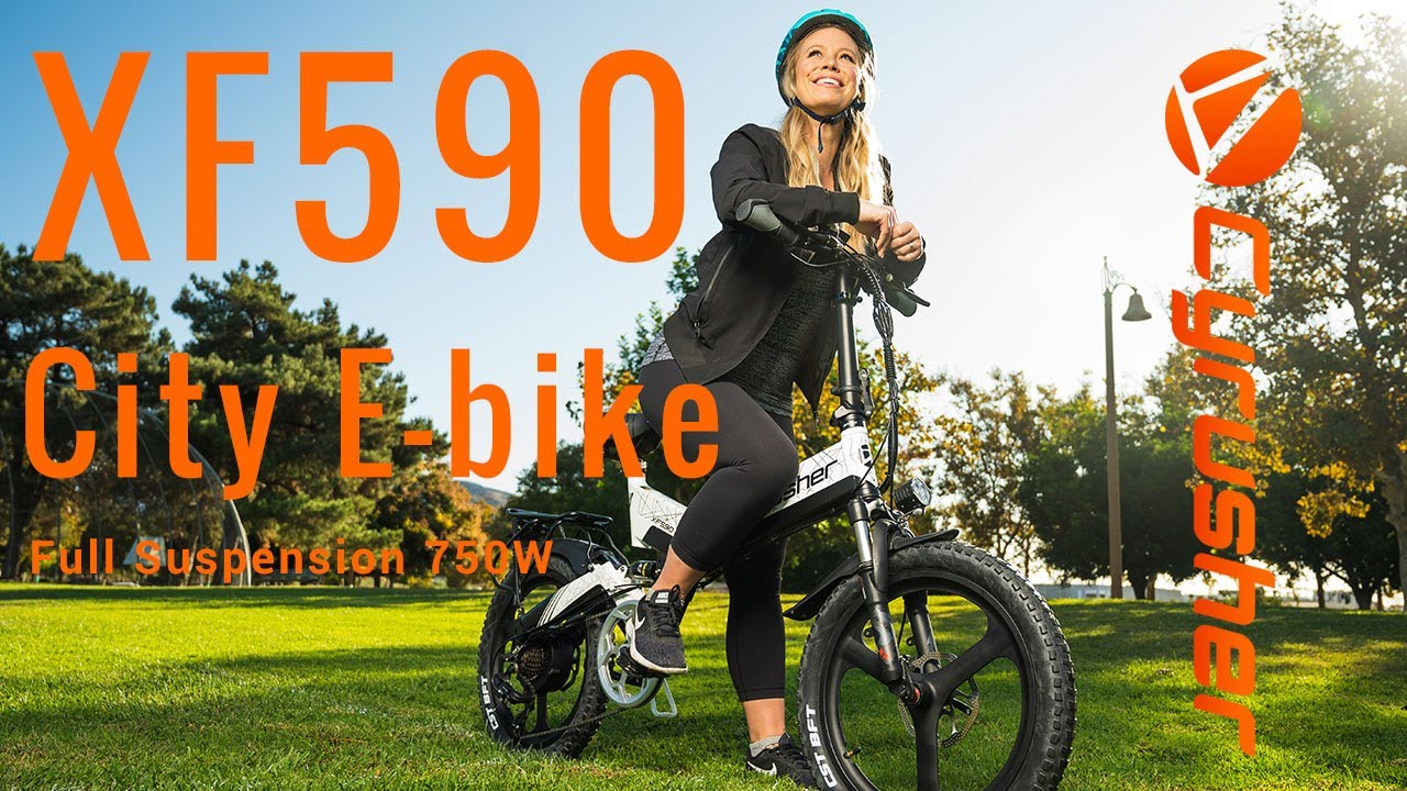 All New from Cyrusher XF590 Folding City Eletric Bike
