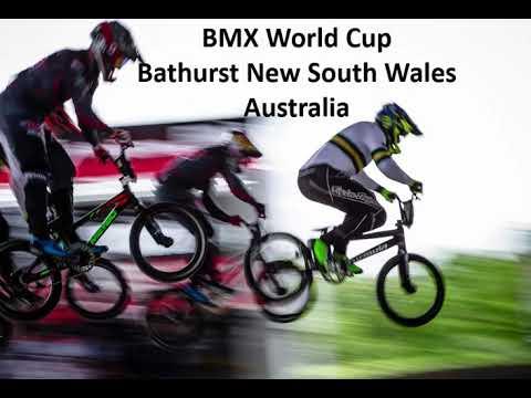 BMX World Cup Bathurst New South Wales Australia