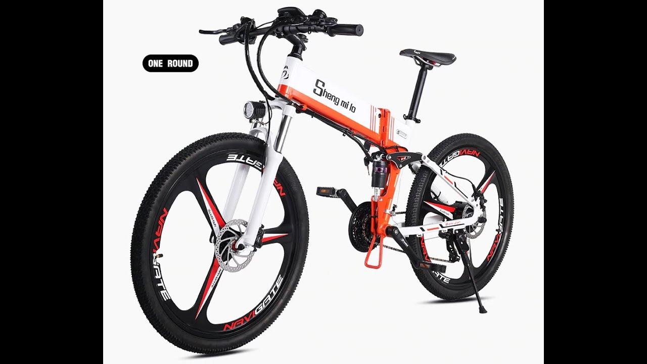Best Electric Folding bicycle Review | Лучший электрический складной велосипедный обзор