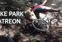 Downhill, saltos, caídas y salvadas con mis Patreones en el Bike Park!