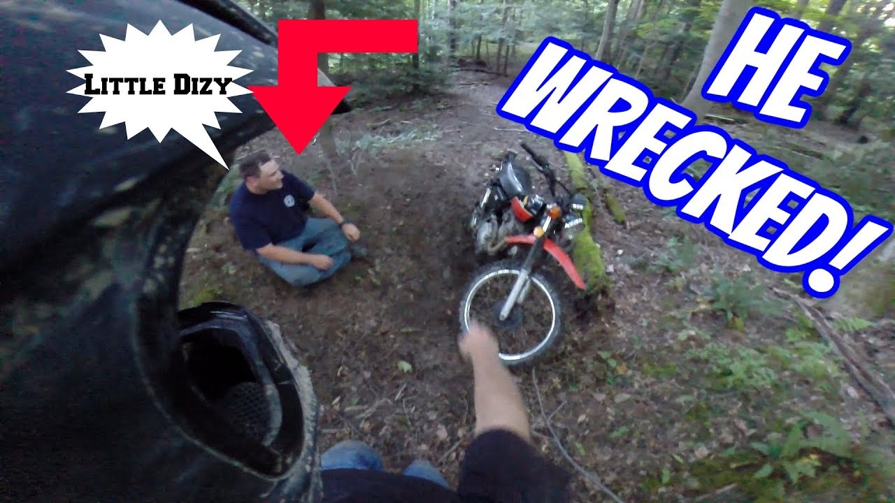 First Ride Ends Badly!!
